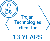 Trojan Technologies client for 13 years